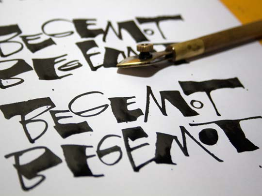 4.Calligraphy and Lettering Sketches