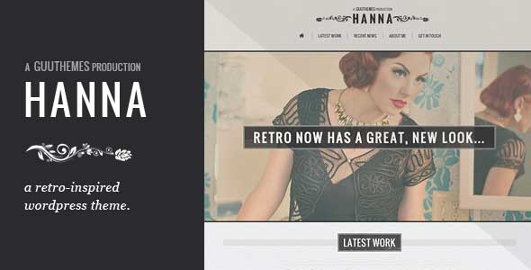 4.free and premium retro wordpress themes