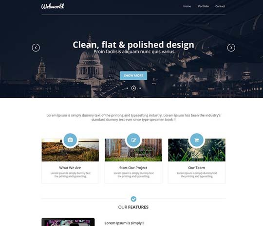 41.free website psd