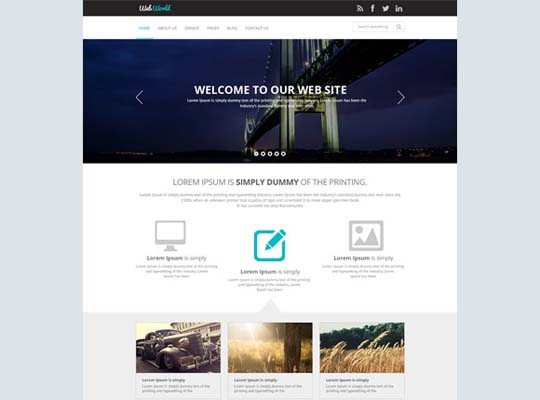 44.free website psd