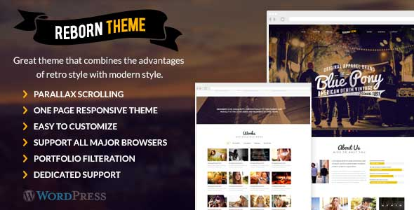 5.free and premium retro wordpress themes