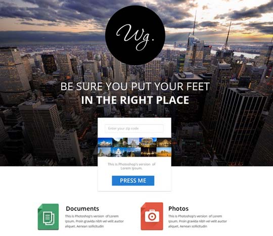 50.free website psd