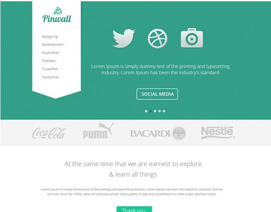 52.free website psd