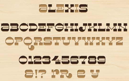 59.free fonts