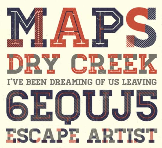 61.free fonts