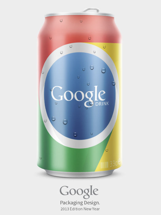 8.Packaging Of Famous Websites