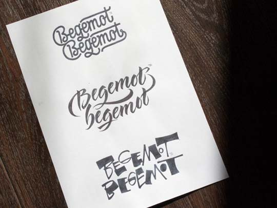 9.Calligraphy and Lettering Sketches