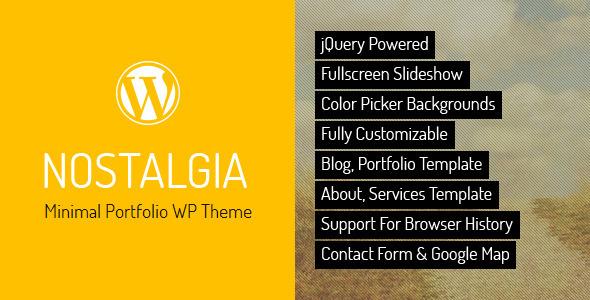 9.free and premium retro wordpress themes