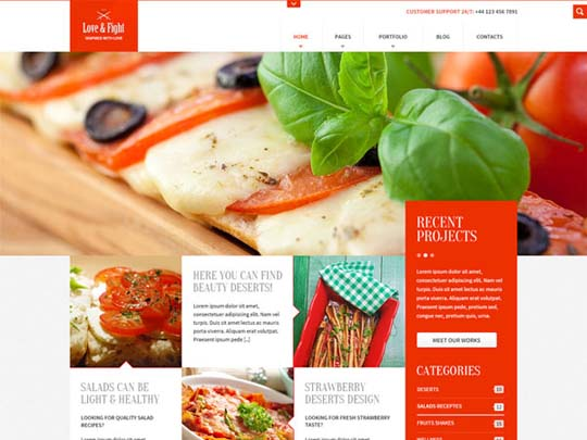 91.free website psd