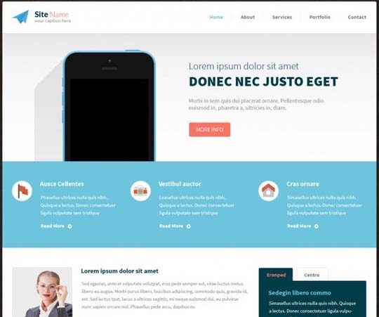 97.free website psd
