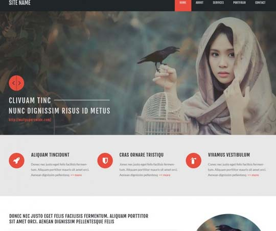 99.free website psd
