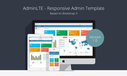 Free Admin Control Panel Theme