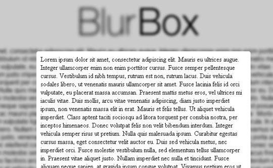 blurbox-jquery-plugin