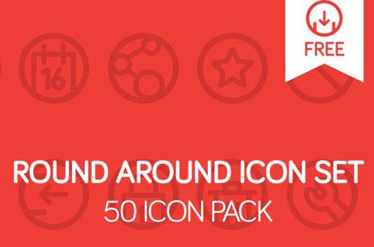 free round icons