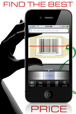 iphone barcode reader
