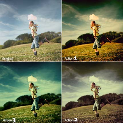 6.photoshop photo action