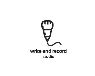 18.creative-use-of-pencil-in-logo-design