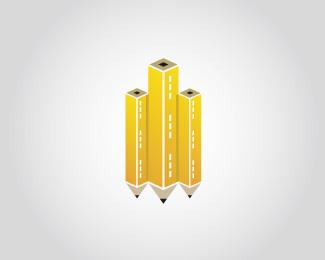 2.creative-use-of-pencil-in-logo-design