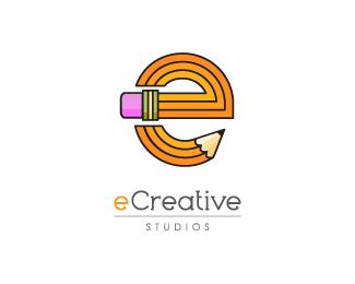 22.creative-use-of-pencil-in-logo-design