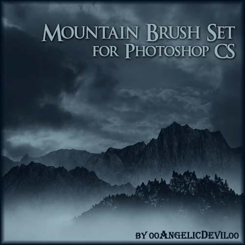 1.photoshop-mountain-brushes