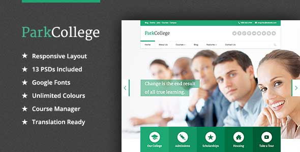 12.education wordpress theme