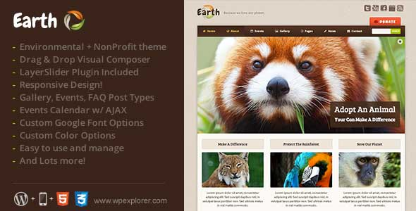 24.non profit wordpress themes