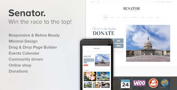 27.non profit wordpress themes