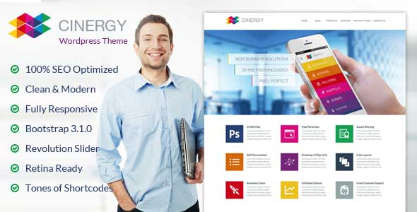 40.business wordpress themes