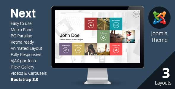 15.joomla portfolio themes