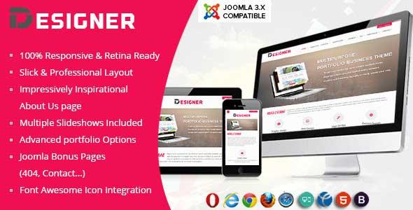 20.joomla portfolio themes