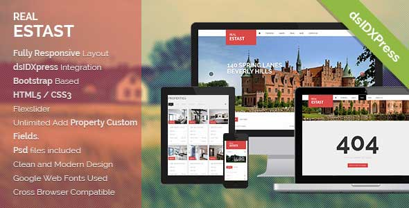 40+ Top Quality Real Estate Wordpress Themes | Pixelbell
