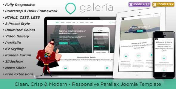 25.joomla portfolio themes