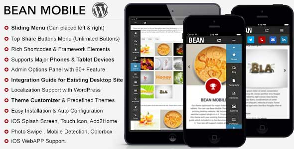 5.mobile wordpress themes
