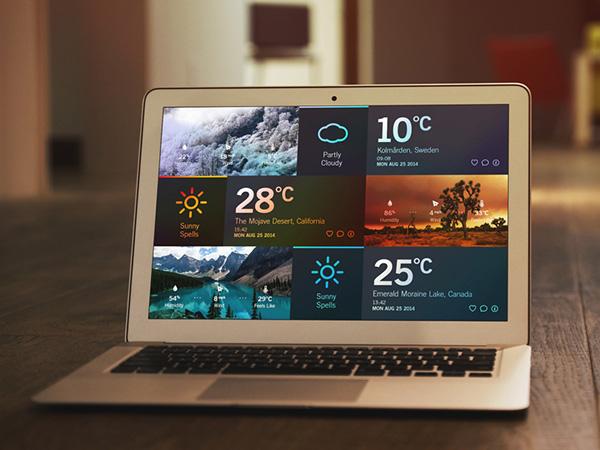 7.weather dashboard