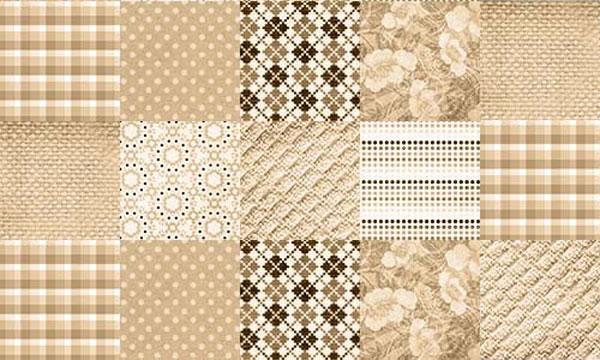 1.photoshop fabric brush