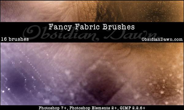 11.photoshop fabric brush