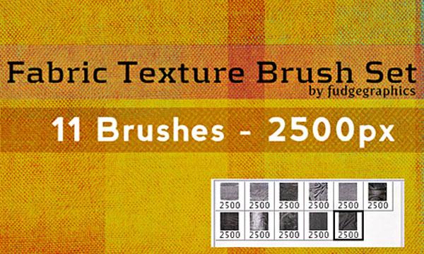 12.photoshop fabric brush