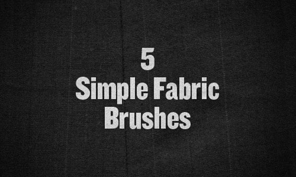15.photoshop fabric brush