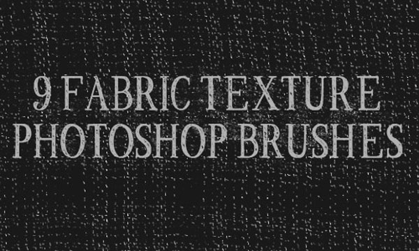 16.photoshop fabric brush