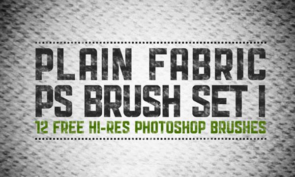 3.photoshop fabric brush