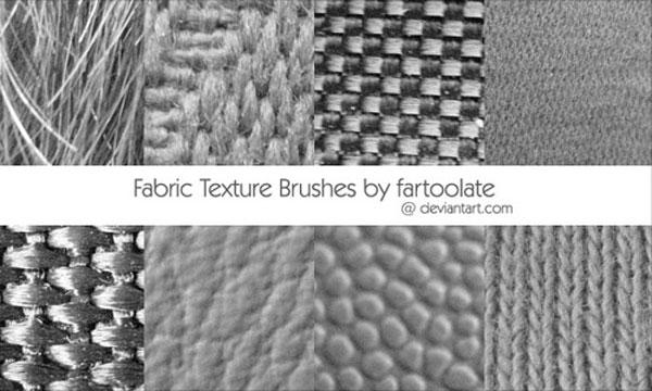 5.photoshop fabric brush
