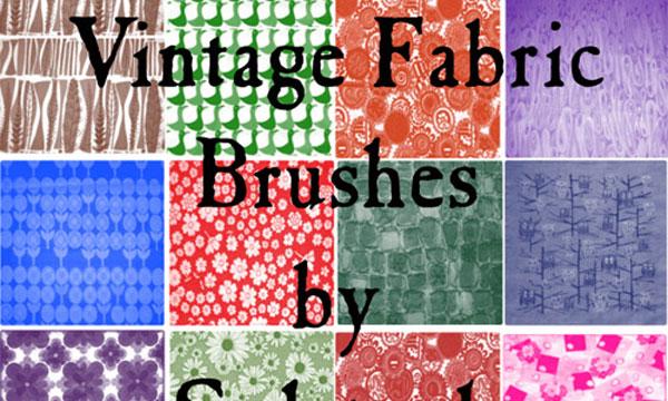 7.photoshop fabric brush