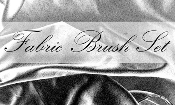 9.photoshop fabric brush