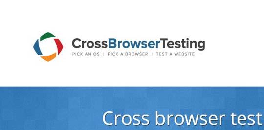 4.cross brower testing tools
