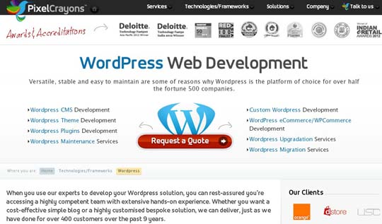 1.PSD to WordPress Conversion Service Providers