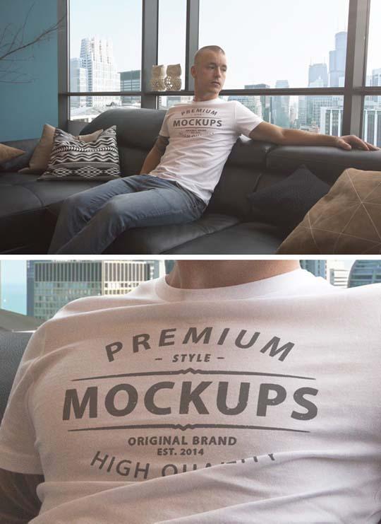 10.tshirt mockup psd
