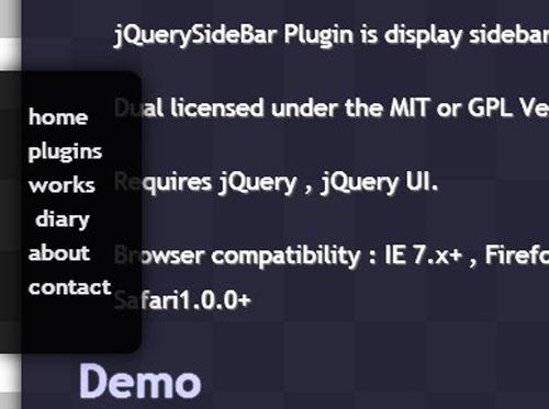 20+ Best Slide-In Slide-Out jQuery Navigation and Menu