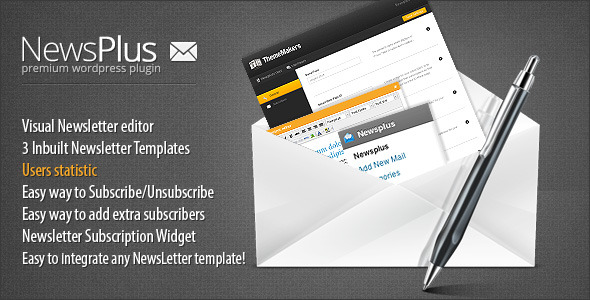 16.newsletter wordpress plugin