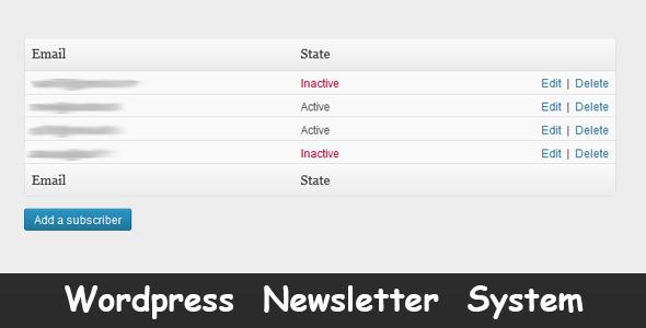 19.newsletter wordpress plugin