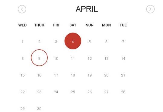 18 Best jQuery Calendar and Date Picker Plugins   Pixelbell